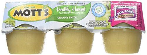 Motts Healthy Harvest (Mott's Healthy Harvest Granny Smith Applesauce - 6 ct)