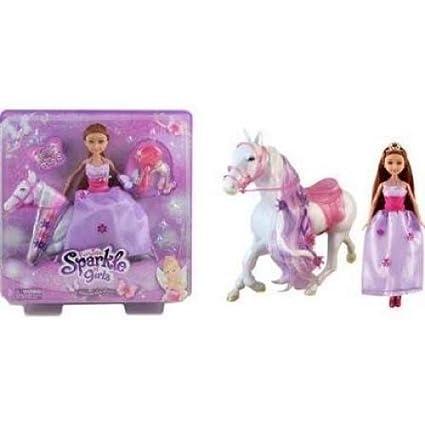 Amazon.com: funville Sparkle Girlz princesa con caballo ...