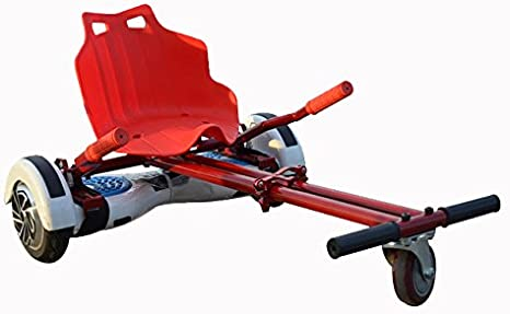 ECONNECT Hoverkart ALL SIZES FULL RED Silla adaptable Hoverboard 6,5/8/10 pulgadas: Amazon.es: Deportes y aire libre