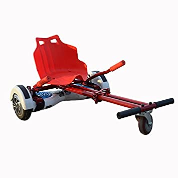 ECONNECT Hoverkart ALL SIZES FULL RED Silla adaptable ...