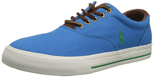 Ralph Lauren Mens Vaughn SK VLC Canvas Trainers Blue (Chroma Blue Suede) cheap footlocker pictures pictures online zcQ8DFQviO