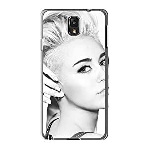 LeoSwiech Samsung Galaxy Note 3 Shockproof Cell-phone Hard Covers Custom Nice Miley Cyrus Image [klC16081Qqya]
