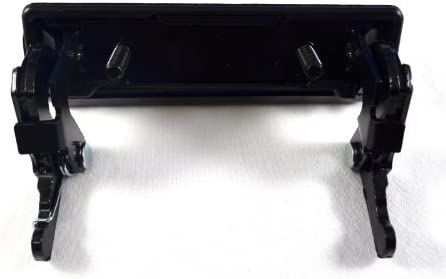 Smooth Black All Metal PT Auto Warehouse FO-3501S-TG Tailgate Handle