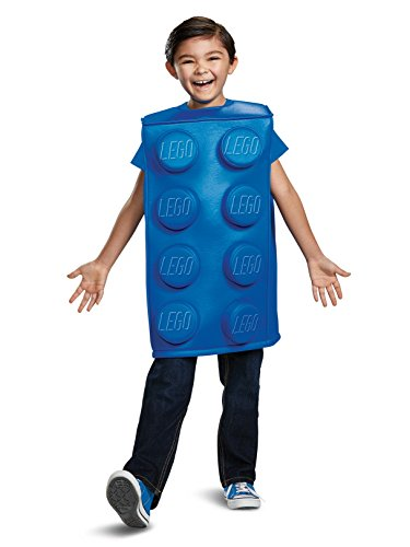 Disguise Blue Brick Child Costume, Blue, Size/(4-6) -