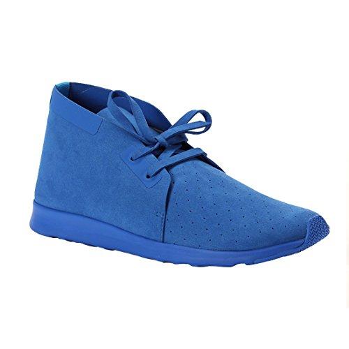Native Shoes Unisex Apollo Chukka Barracuda Blue/Barracuda Blue Sneaker