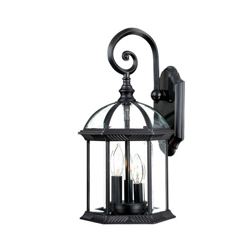Acclaim 5273BK Dover Collection 3-Light Wall Mount Outdoor Light Fixture, Matte Black Review
