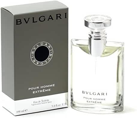 Bvlgari Extreme Eau de Toilette Spray, 3.4 Ounce