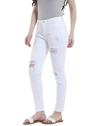 Jeans Jeans Boyfriend Bianco Only Only Donna Only Bianco Donna Boyfriend q07PAvx