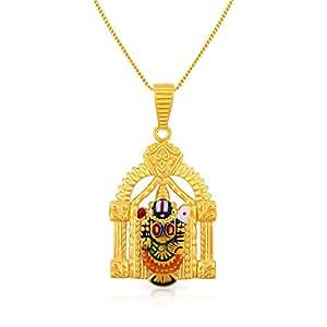 Malabar Men's Gold Pendant - 22K, PDBHAE0001