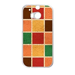 Colorful Grid Fashion Personalized Phone Case For HTC M8