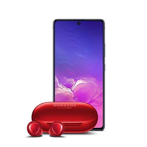 Samsung Galaxy S10 Lite New Unlocked Android Cell Phone 128GB of Storage, US Version with Samsung Galaxy Buds+ Plus, Red – US Version