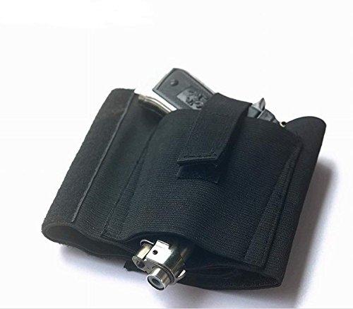 Lyricall Concealment Ankle Leg Pistol Gun Right Left Holster for Revolvers Small Frame Pistols Handguns Guns