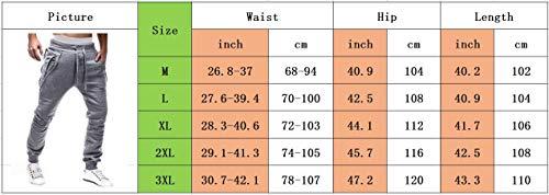 Joggers Survêtement Élastique Ceinture Somthron Long À Mode Shorts La Pantalons 1 Gris Cargo Activewear De Jogging Coton Poches Plus Homme Taille Sport Avec EH5qqWrwz