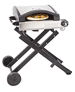 3. Cuisinart CPO-640 Alfrescamore Portable Outdoor Pizza Oven with Stand