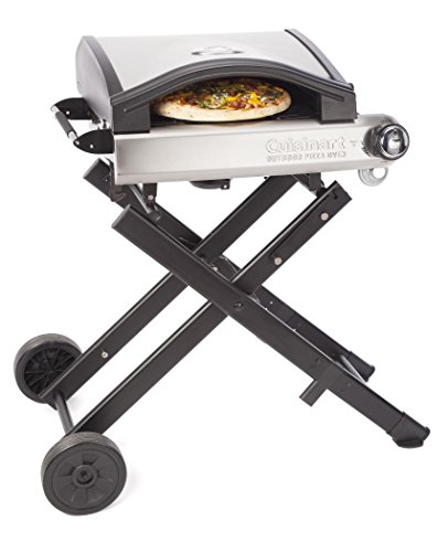 Cuisinart CPO-640 Alfrescamore Portable Outdoor Pizza Oven with Stand, Black by Cuisinart