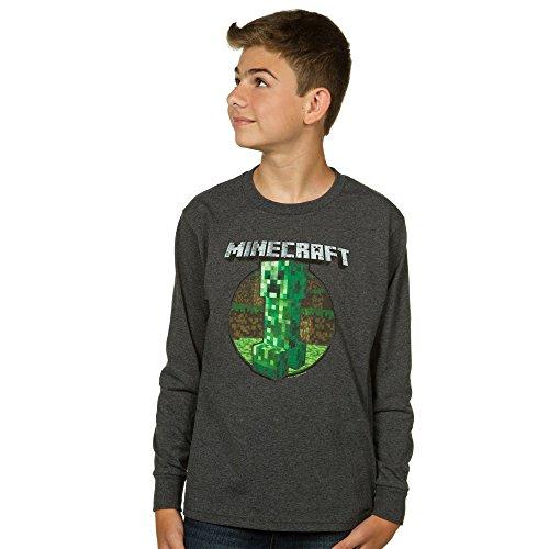 minecraft-retro-creeper-boys-8-20-long-sleeve-t-shirt-youth-small