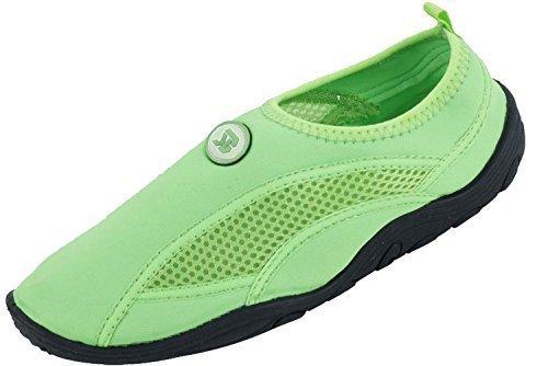 5 Sunville Women's Grn Water Aqua Socks Shoes 1Z1ArwqYn