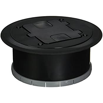 Hubbell Raco 6239ss Round Stainless Steel Floor Box Kit