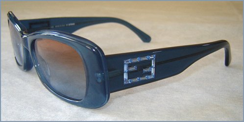 Fendi Blue Sunglasses FS247 - Brown Gradient Lens - - Sunglasses Sale Fendi