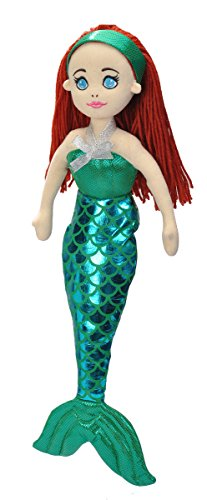 Wild Republic Mermaid Plush, Gifts Kids, Sirens of The Sea, Mermaid Party Supplies, Plush Toy, Symphony 16