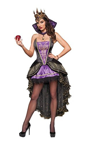 Incharacter Costumes Evil Queen (Evil Queen Adult Costume - Medium)