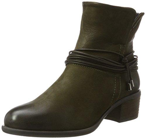 SPM Olga Ankle Boot, Stivali Chelsea Donna Grün (Kaki Green)