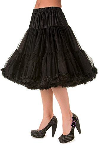 """Prohibido 26""""Petticoat negro"""