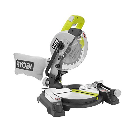 Ryobi 9 Amp 7-1 4 in. Compound Miter Saw with Laser