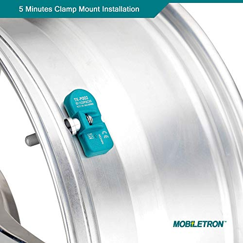 MORESENSOR Signature Series 315MHz TPMS Tire Pressure Sensor Replacement for 15114379 NX-S021 Clamp-in Preprogrammed for Select 70+ American Brand Models