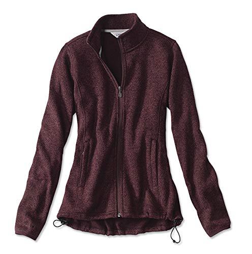 477a82e2b25 Orvis Women's Marled Sweater Fleece Jacket/Marled Sweater-Fleece ...