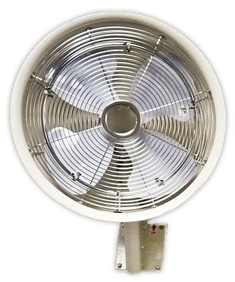 18'' Oscillating Mount Misting White fan 5 Nozzle by Advanced Systems