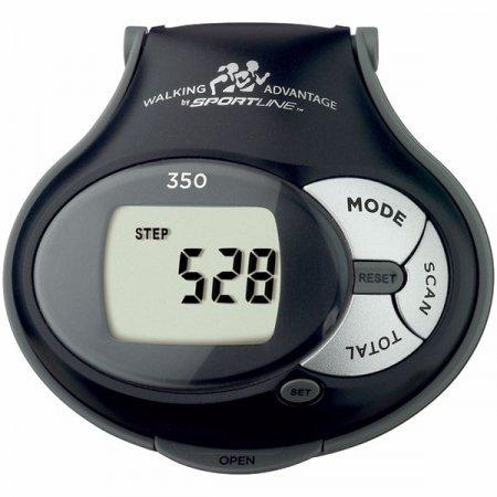Sportline 350 Pedometer - Digital Pedometer Sportline