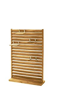Garden Privacy Screen, Free Standing, Wood, 80 X 28 X 120 Cm