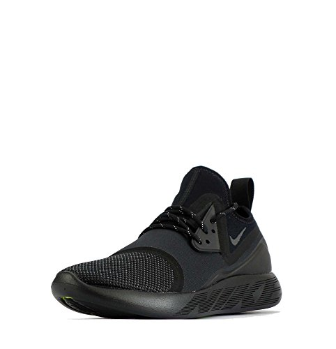 Nike , Herren Sneaker schwarz Black/Dark Grey-Black