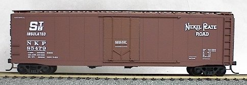 - Accurail 5106 HO Nickel Plate Road AAR 50' Plug-Door Riveted Boxcar Kit