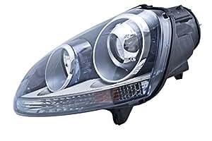 HELLA 010168011 Volkswagen Golf/Rabbit/Jetta/R32/GTI MkV Driver Side Headlight Assembly
