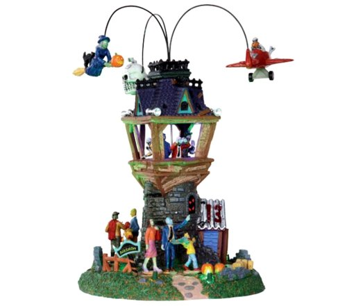 Lemax 34607 Halloween Airshow Spooky Town Village Accessory Building Decor