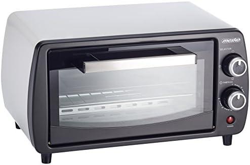 Mesko MS6004 Horno de sobremesa de 12 litros, 1000 W, 0 Decibeles ...
