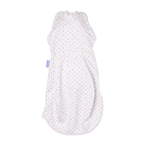 Gro-snug 2 in 1 Swaddle and Newborn Grobag-Rainbow Spot Light, Newborn 5-12 Lbs The Gro Company AFF1005