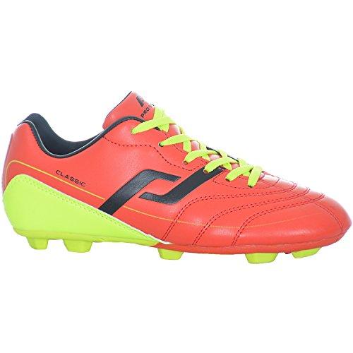 ProTouch Classic HG Jr Kinder Fussballschuhe Schuhe Fußball Red/Yellow rot