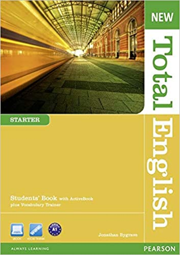 New Total English Starter Students' Book , Video and Wordlist