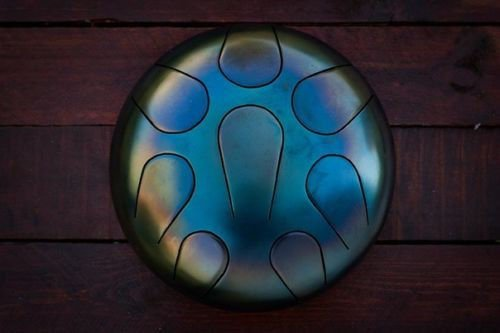 8 Drum Handpan Tongue Steel Tank Hank Handmade