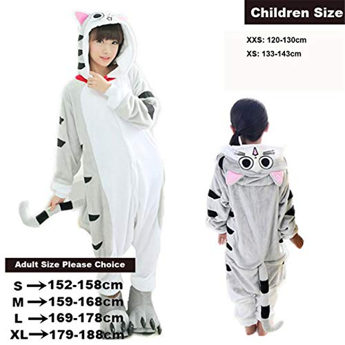 (Girls Unicorn Pegasus Giraffe Sets Flannel Animal Cartoon Nightie Stitch Pyjamas for Women Adult Halloween Cheese Cat)