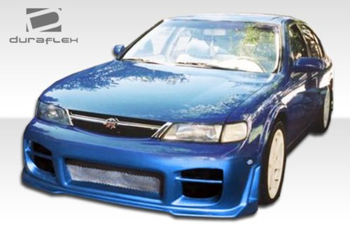 1995-1999 Nissan Maxima Duraflex R34 Body Kit - 4 Piece - Includes R34 Front Bumper Cover (103099) Evo Rear Bumper Cover (101653) Evo Side Skirts Rocker Panels ()