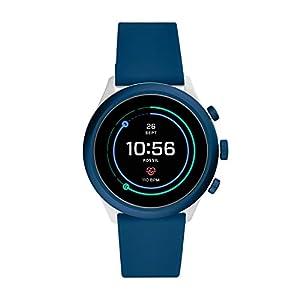 Fossil Sport Smartwatch Digital Black Dial Men's Watch-FTW4036