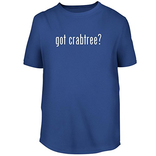 BH Cool Designs got Crabtree? - Men's Graphic Tee, Blue, Medium