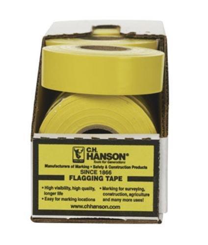 Ch Hanson 17024 Standard Flagging Pvc Tape Yellow