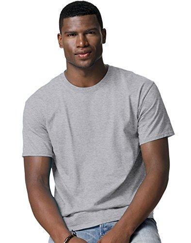 Hanes Adult Tagless® T-Shirt - Oxford Grey (60/40) - -