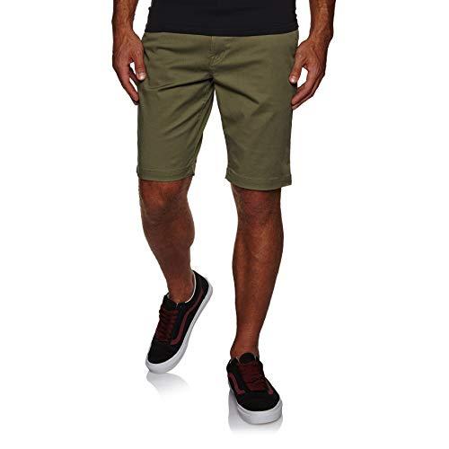 Volcom Frickin Modern Stretch Walk Shorts 30 inch Army