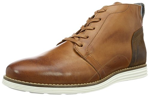 neoneo Brade2, Zapatillas de Estar por Casa para Hombre Marrón (Cognac)